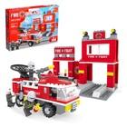 Конструктор Пожарная бригада «Станция», 301 деталь - фото 106528420