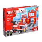 Конструктор Пожарная бригада «Станция», 301 деталь - фото 106528421