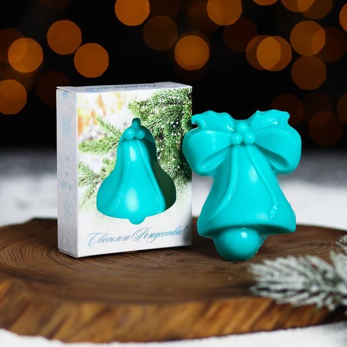 Мыло в форме колокольчика «Светлого Рождества!»