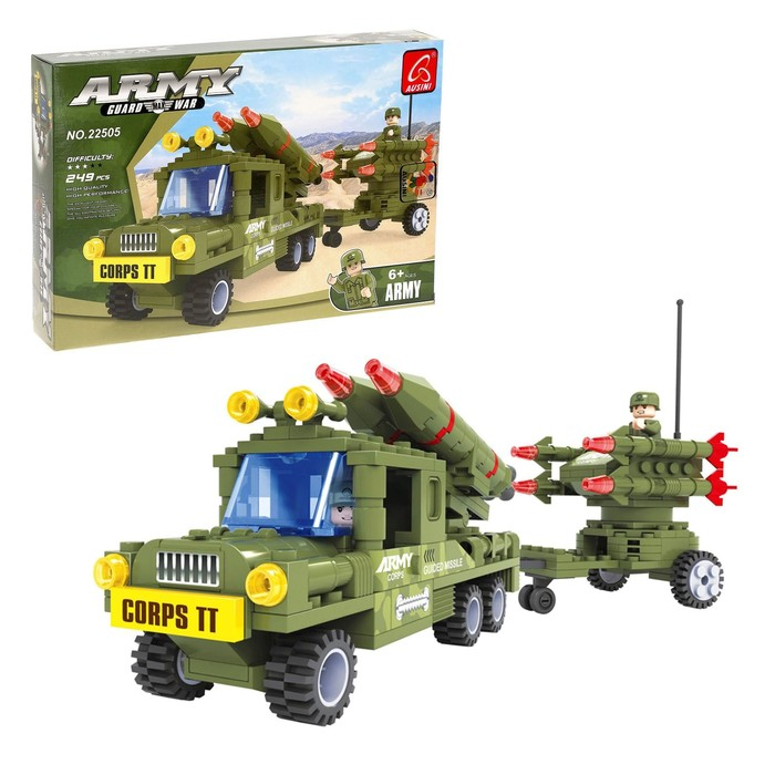 Конструктор «Ракетная установка», 249 деталей