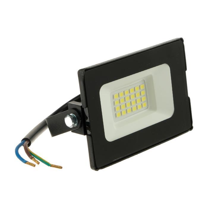 Прожектор светодиодный duwi eco, 20 Вт, 1400 Лм, 6500 К, IP65