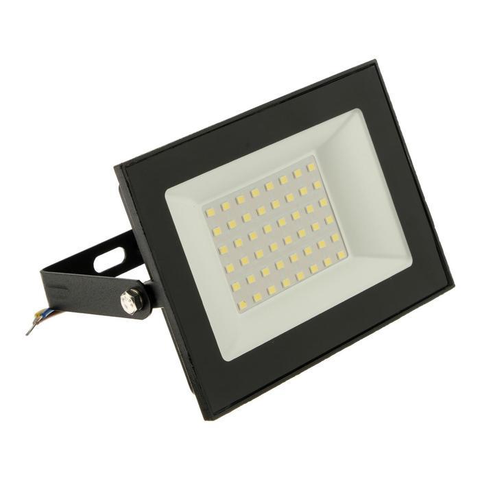 Прожектор светодиодный duwi eco, 50 Вт, 6500 К, 3500 Лм, IP65