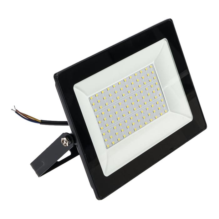 Прожектор светодиодный REV Ultra Slim, 100 Вт, 6500 К, 8000 Лм, IP65
