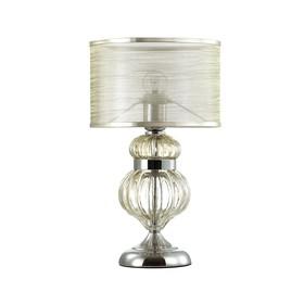 Настольная лампа Lilit, 40Вт E27, цвет хром
