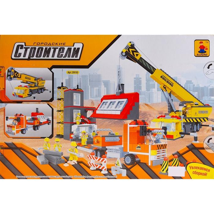 Конструктор «Городские строители: Мега стройка», 1016 деталей