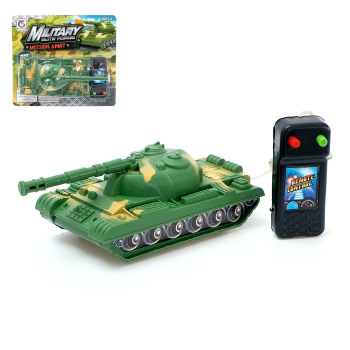 Танк «Тигр», на дистанционном управлении, работает от батареек, МИКС