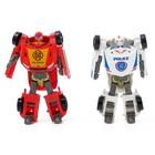Набор роботов «Кроссоверы», трансформируется, 2 штуки, МИКС - фото 105506514