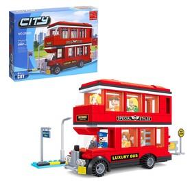 Конструктор «Двухэтажный автобус», 282 детали