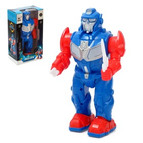"""Robot """"Brave"""", sound and light effects, battery powered MIX color"""