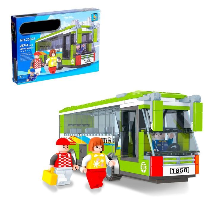 Конструктор «Автобус», 274 детали