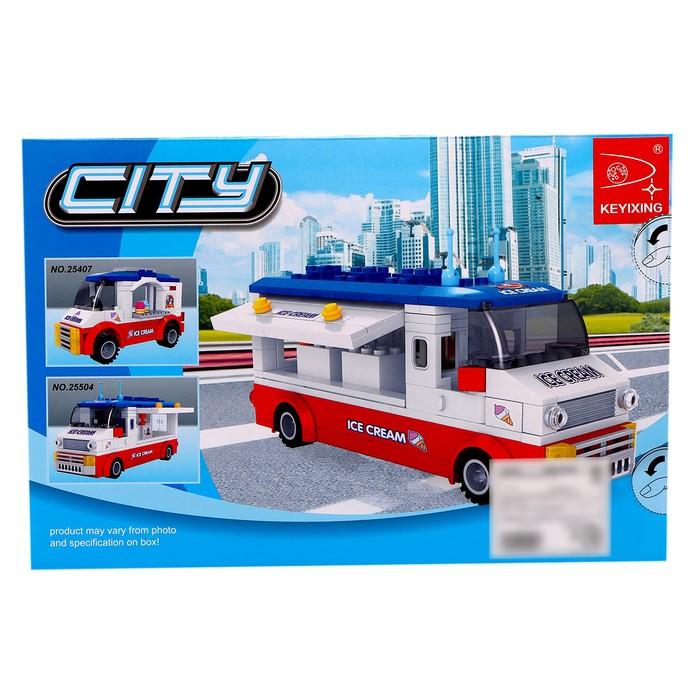 Конструктор «Фургон с мороженым», 259 деталей