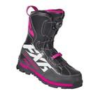 Ботинки FXR X-Cross Pro BOA с утеплителем, размер 36, чёрный, розовый