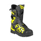 Ботинки FXR Helium Pro с утеплителем, размер 42, чёрный, серый, жёлтый