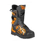 Ботинки FXR Helium Pro с утеплителем, размер 46, чёрный, серый, оранжевый