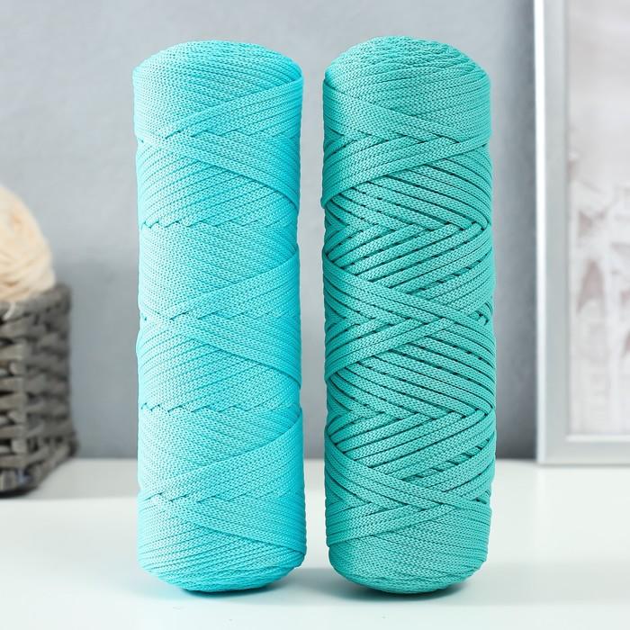 """Шнур для вязания """"Классика"""" 100% полиэфир 3мм 100м (170 бирюзовый)"""