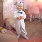 """Карнавальный костюм для малышей """"Мышонок с бабочкой"""", велюр, хлопок, рост 74-92 см"""