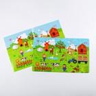 Пазлы по цифрам «Животные», 60 шт., 8 × 12,5 × 4 см - фото 105597642