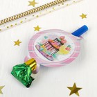 "Tabs-whistles ""Sweet Birthday"" set of 6 PCs"