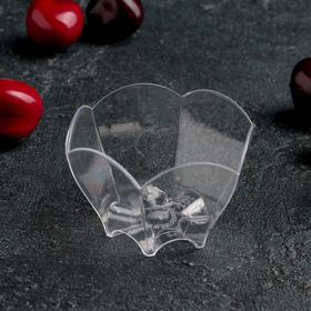 Чашка «Тлюльпан», 70 мл, 6,5 см, прозрачная