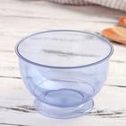 Креманка одноразовая «Кристалл», 200 мл, цвет синий, 16 шт/уп.