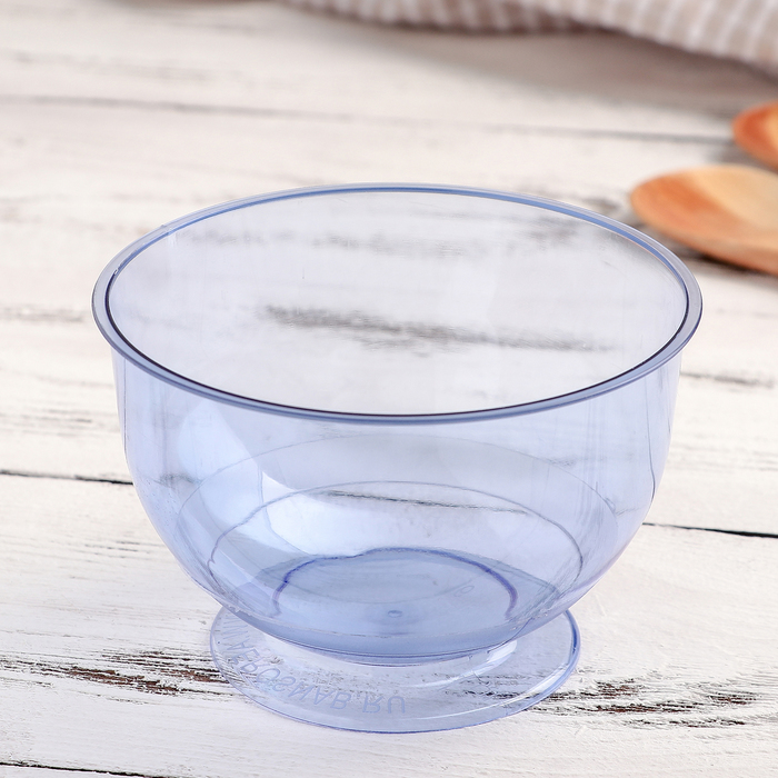 Креманка «Кристалл», 200 мл, цвет синий