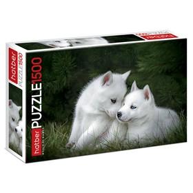 Пазл 1500 элементов «Два щенка»