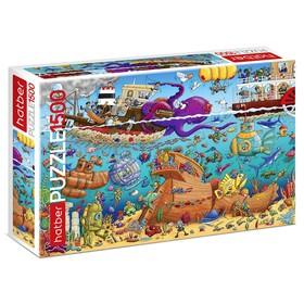 Пазл 1500 элементов «На дне морском»