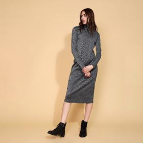 Платье-водолазка MINAKU, размер 42, цвет чёрный