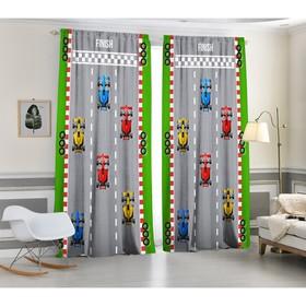 A set of curtains Finish, 147x267 +/- 3cm 2pcs, gabardine, p / e100%