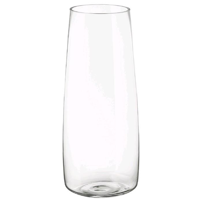 Ваза БЕРЭКНА, прозрачное стекло