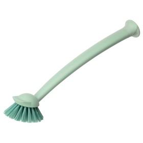 Щётка для мытья посуды РИННИГ, цвет зелёный