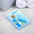 """Natural handmade soap with a picture of """"Astana"""", 100 gr. 8 x 5.5 x 2 cm"""