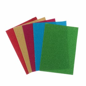 A set of colored cardboard A4