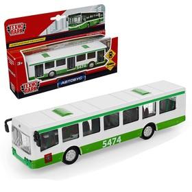 Машина металлическая «Автобус рейсовый» инерционная, 16,5 см