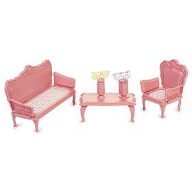 Набор мебели «Маленькая принцесса», цвет нежно-розовый