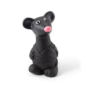 Резиновая игрушка «Мышонок», цвет чёрный