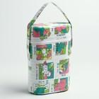 Контейнер для классических бутылок (пенопласт), цвет МИКС - фото 980578