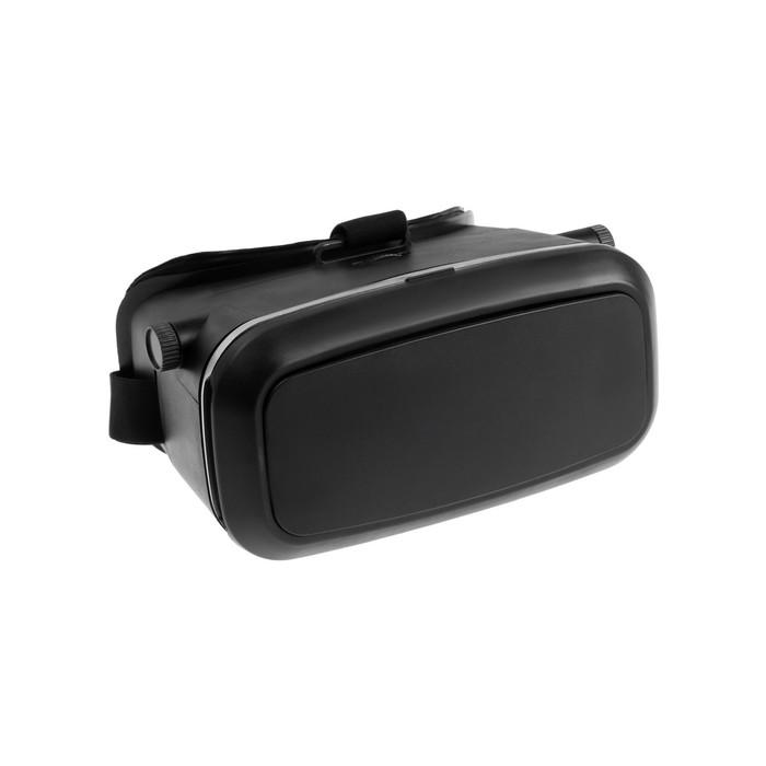 """3D Очки виртуальной реальности LuazON, телефоны до 6.5"""" (75х160мм), чёрные"""