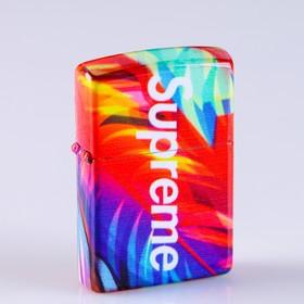 """Lighter e """"Supreme"""", gift box, USB, arc, 3.7x5.8 cm"""