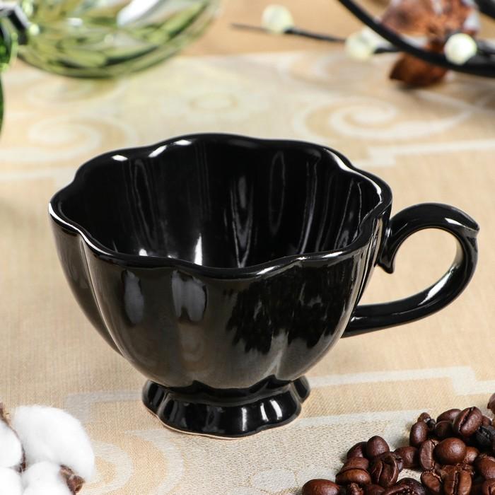 """Чашка кофейная """"Black"""", 0.18 л - фото 685093079"""