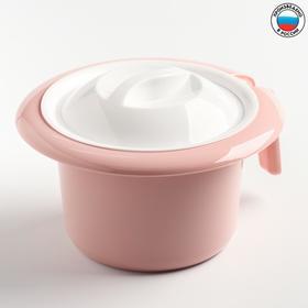 Горшок туалетный детский 'Кроха', цвет розовый Ош