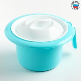 """Горшок туалетный детский """"Кроха"""", цвет бирюзовый"""