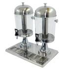 Диспенсер для напитков GASTRORAG ZCF502, 2 резервуара х 7 л, трубка для льда 0.9 л