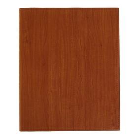 Бизнес-блокнот А4, 96 листов «Премиум», обложка из искусственной кожи, коричневый
