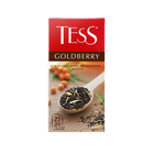 Чай Tess Голдберри(1,5гх25п)пакетированный черн.с доб.