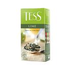 Чай Tess Лайм(1,5гх25п)пакетированный зел.с доб.