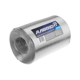 Воздуховод гофрированный 'Алювент', d=150 мм, раздвижной до 1.5 м, алюминиевый Ош