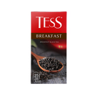 Чай Tess Брекфаст (1,8гх25п)пакетированный черн.