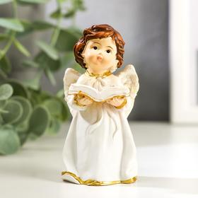 "Souvenir Polyresin ""Angel in a dress, with a dove/the book"" MIX 8,5x4,3x3 cm"