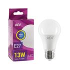 Лампа светодиодная REV LED, A60, 13 Вт, Е27, 2700 K, тёплый свет